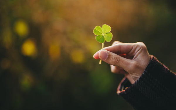 Nghĩ về tương lai đón chờ may mắn và điều tích cực trong cuộc sống