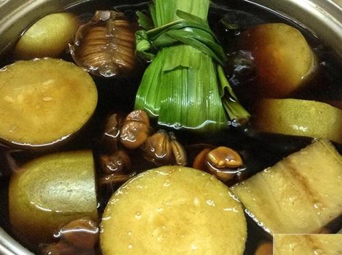 Nấu trà bí đao tại nhà để uống giảm cân