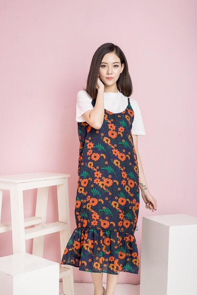 4 kiểu dáng váy hoa cho các quý cô xinh tươi dịp hè - Ảnh 2