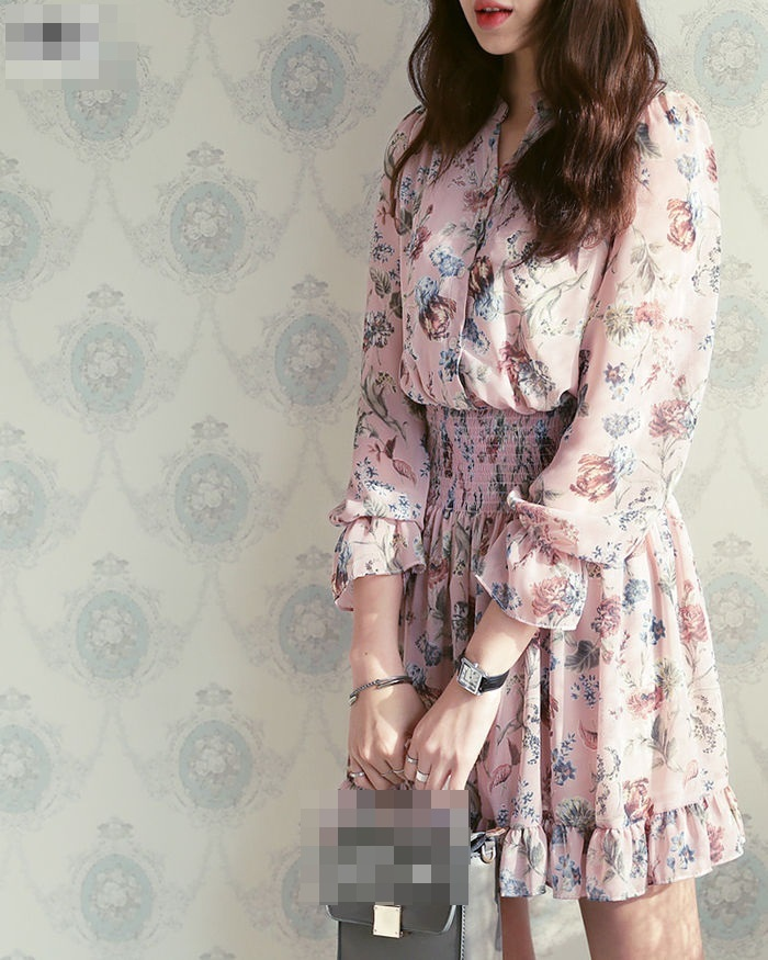 4 kiểu dáng váy hoa cho các quý cô xinh tươi dịp hè - Ảnh 8