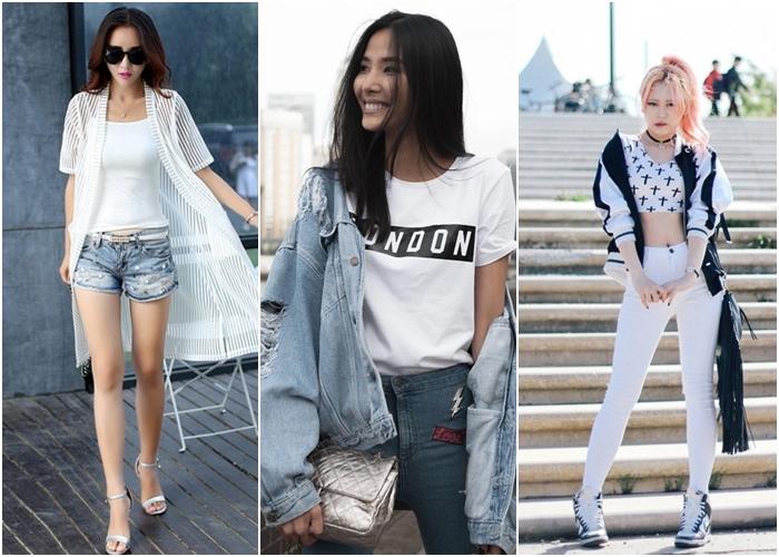 Bí quyết mặc đẹp cho các cô gái có vai to và thô - Ảnh 14