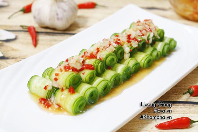 Salad dưa chuột chua cay giòn ngon dễ ăn - Ảnh 4