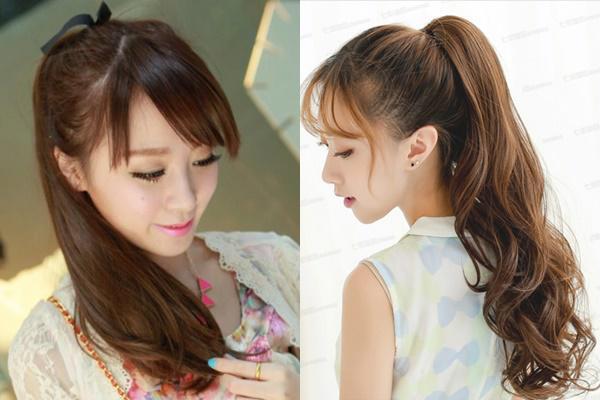 KIểu tóc buộc cao đẹp dành cho mùa hè sôi động