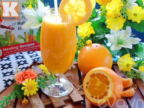 Nước ép cam mát lạnh, bổ dưỡng ngày nắng - Ảnh 3
