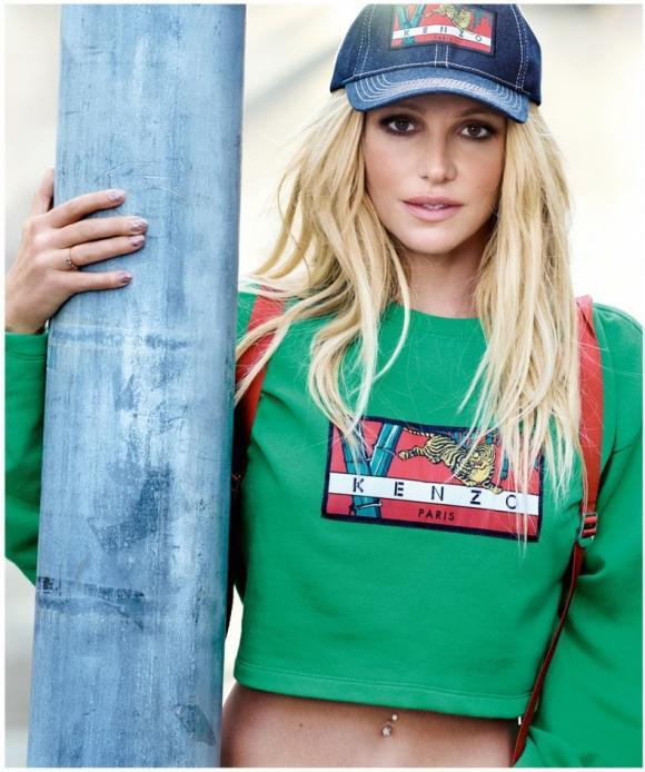 36 tuổi mà 'Công chúa nhạc pop' Britney Spears năng động, quyến rũ không khác gì gái đôi mươi - Ảnh 1
