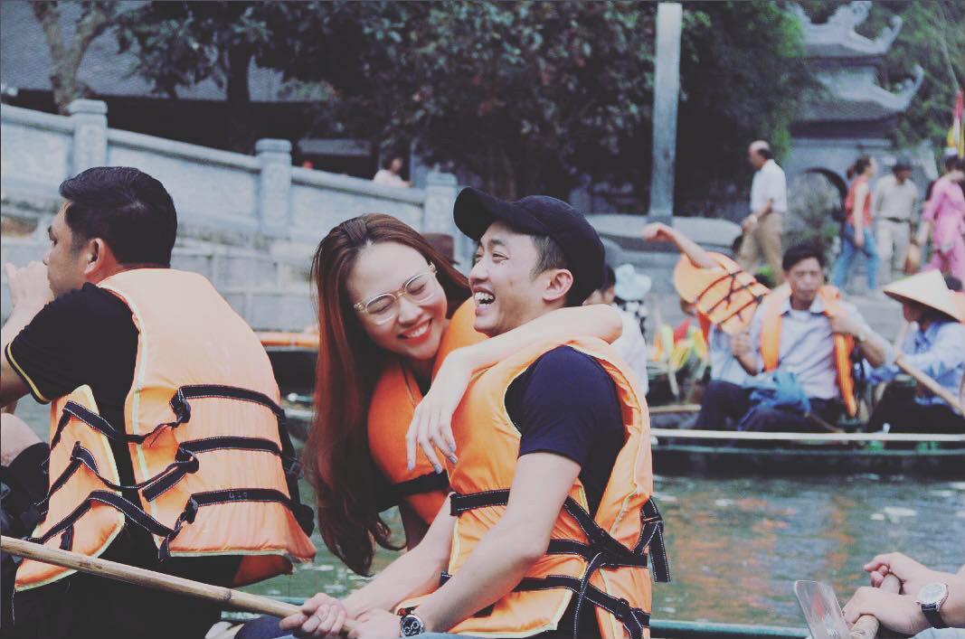 Giữa showbiz Việt đầy ồn ào thị phi, Đàm Thu Trang vẫn ngọt ngào và bình yên bên Cường Đô La thế này đây! - Ảnh 1