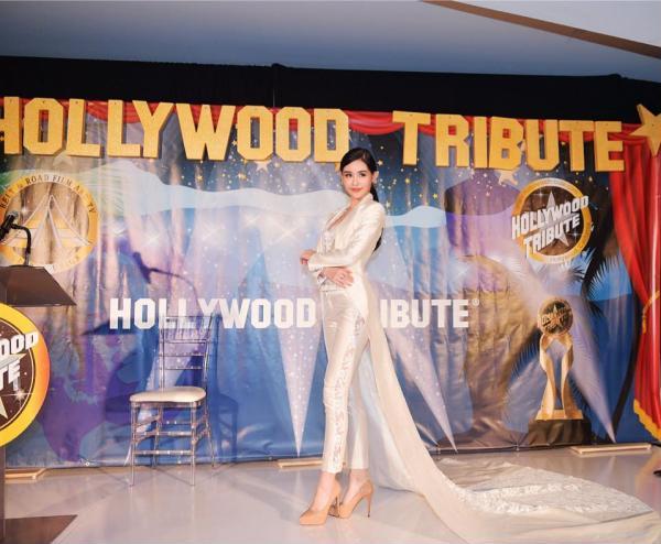 Hoa hậu Ngân Anh khoe sắc 'nóng bỏng' với váy áo xẻ lườn trở thành tâm điểm sự kiện - Ảnh 10