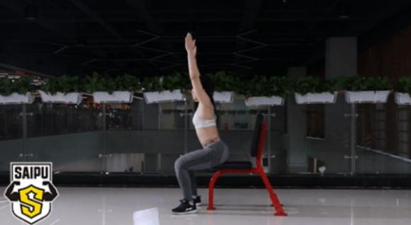 1 chiếc ghế, 7 động tác - phương pháp giảm cân hữu hiệu cho người lười - Ảnh 2