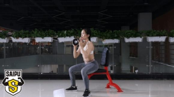 1 chiếc ghế, 7 động tác - phương pháp giảm cân hữu hiệu cho người lười - Ảnh 6