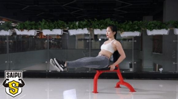 1 chiếc ghế, 7 động tác - phương pháp giảm cân hữu hiệu cho người lười - Ảnh 8