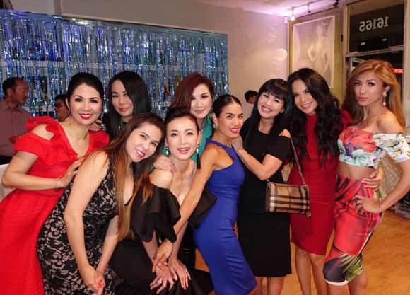 'Bà bầu' Thanh Thảo vui hết mình trong tiệc sinh nhật MC Kỳ Duyên - Ảnh 6