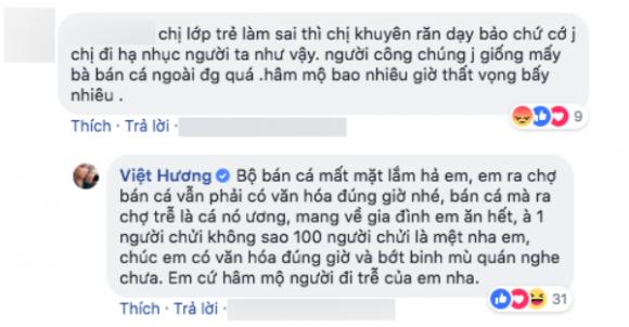 Việt Hương đáp trả gay gắt khi bị chê chợ búa vì tố Huỳnh Anh bỏ show - Ảnh 1
