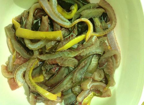 Bữa sáng ngon miệng với món miến lươn - Ảnh 1