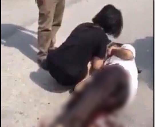 Bắc Giang: Nữ sinh dùng dao bấm đâm 'tình địch' - Ảnh 1