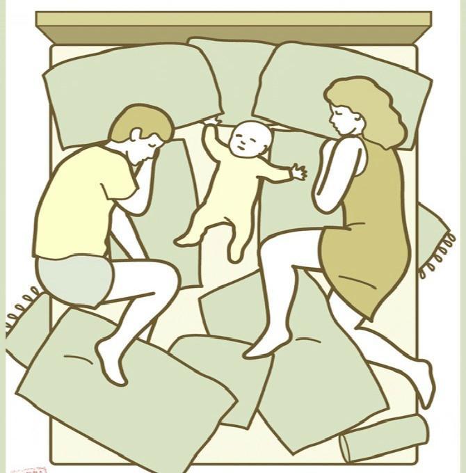 4 tư thế ngủ của trẻ khiến bố mẹ 'phát điên' nhưng lại chứng minh trí thông minh hơn người - Ảnh 4