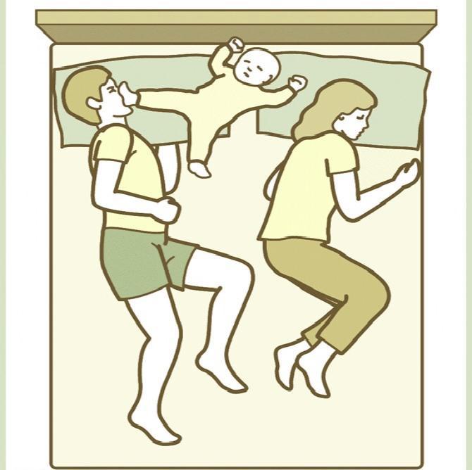 4 tư thế ngủ của trẻ khiến bố mẹ 'phát điên' nhưng lại chứng minh trí thông minh hơn người - Ảnh 5
