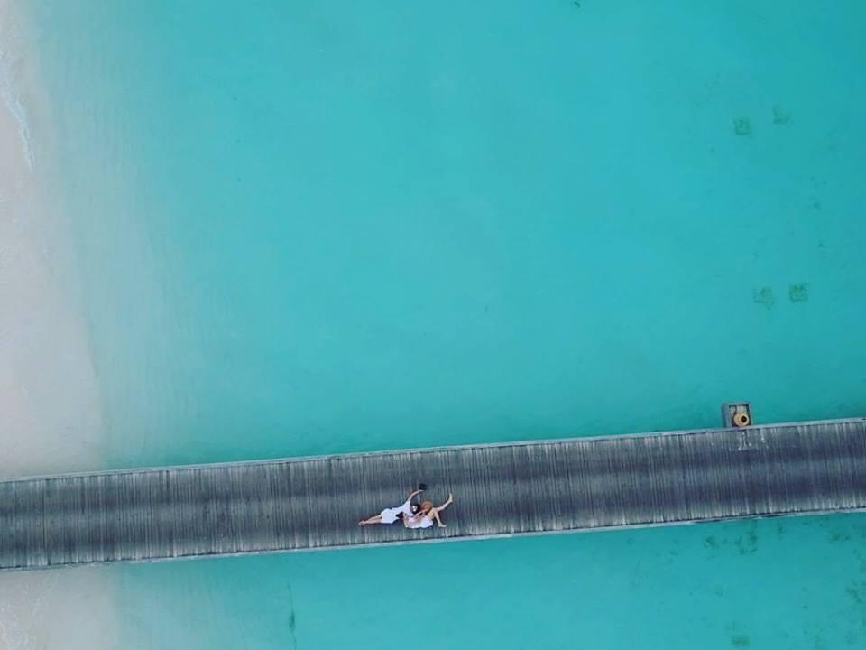 Rò rỉ ảnh cưới của Cường Đô La và Đàm Thu Trang tại Maldives? - Ảnh 2