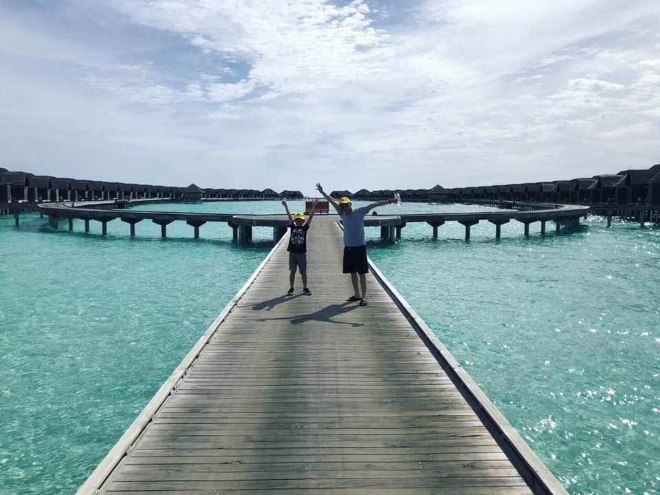 Rò rỉ ảnh cưới của Cường Đô La và Đàm Thu Trang tại Maldives? - Ảnh 3