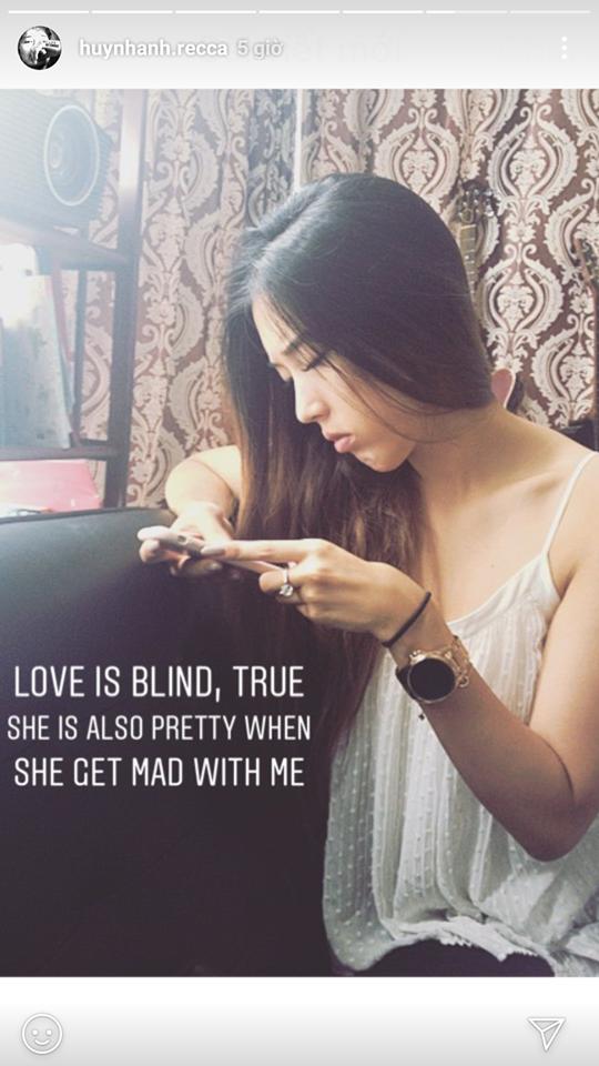 Huỳnh Anh công khai đăng ảnh bạn gái mới, Hoàng Oanh phản ứng: 'cuộc sống có nhiều điều đẹp ngoài tình yêu' - Ảnh 1