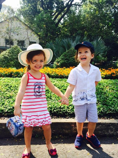 Ngắm những nhóc tì lai Tây siêu đáng yêu của nhà sao Việt - Ảnh 11