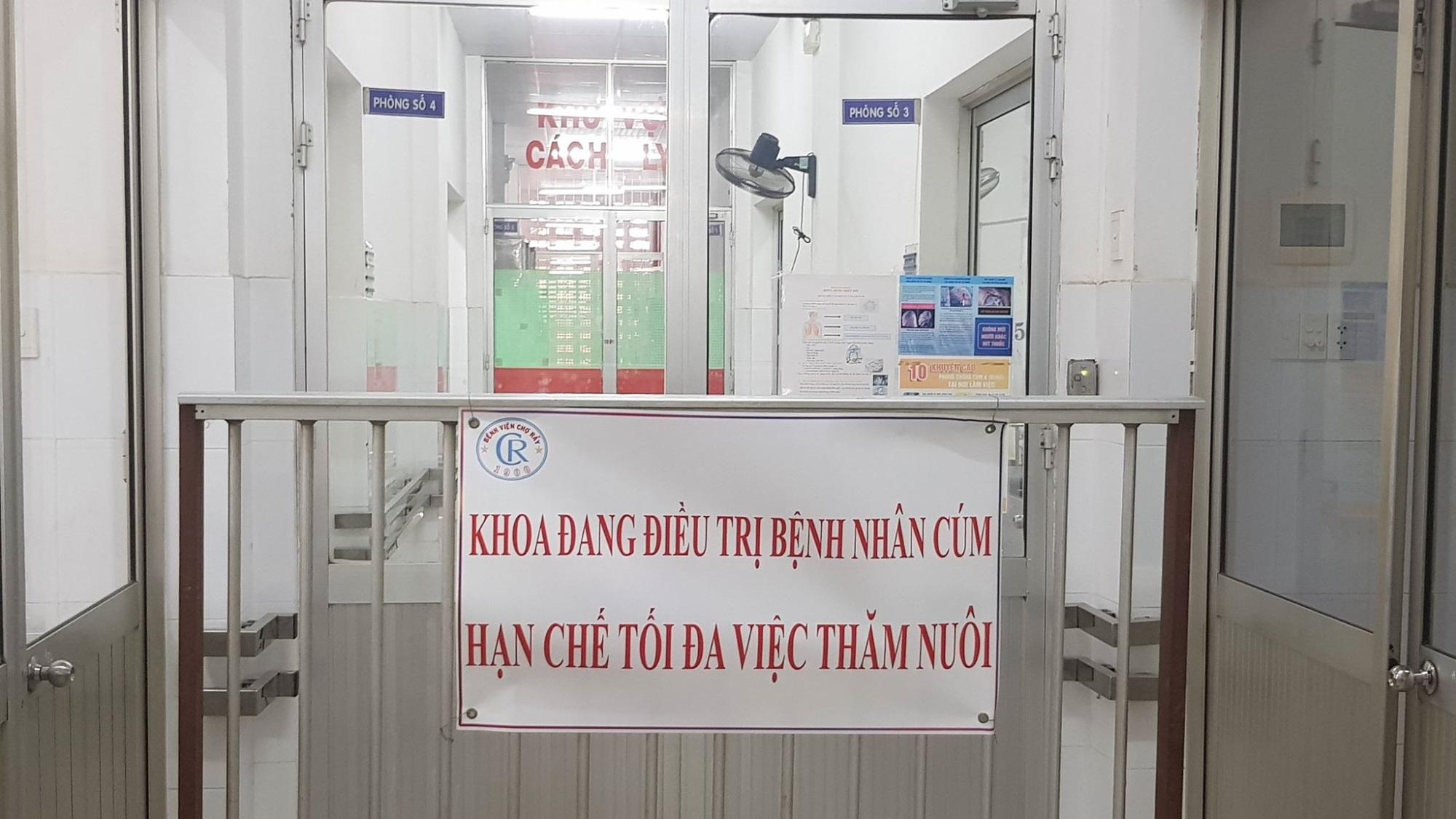 Khống chế thành công chùm cúm A/H1N1 ở bệnh viện Chợ Rẫy  - Ảnh 1