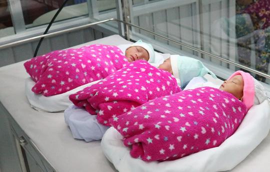 Một phụ nữ đang điều trị vô sinh bất ngờ mang tam thai - Ảnh 2