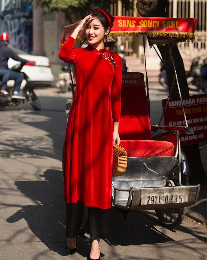 Sao Việt thi nhau diện sắc đỏ đón xuân về - Ảnh 5