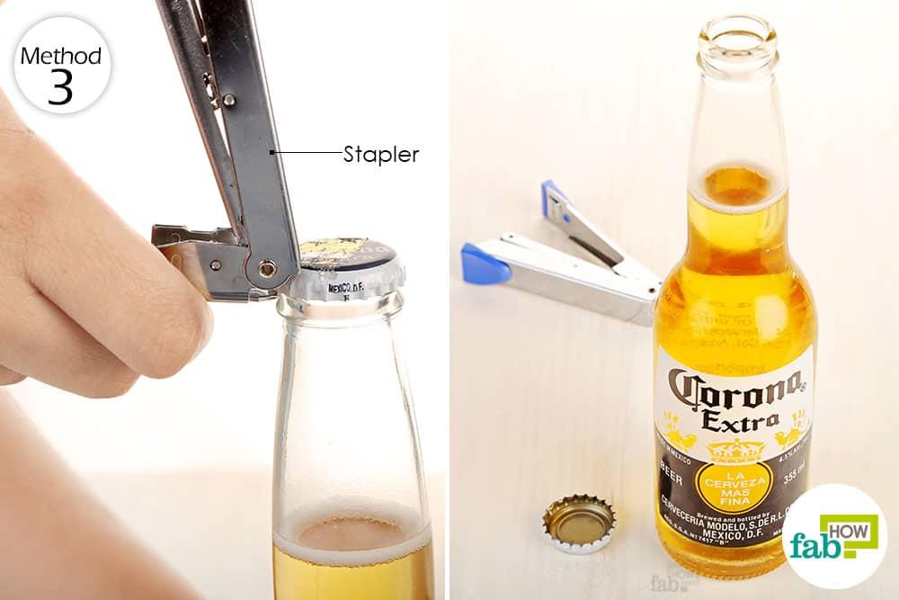 Bật nắp bia với dập ghim áp dụng lần nào cũng thành công