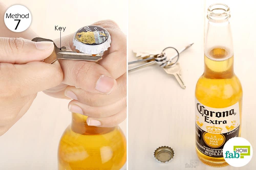 Với 1 chìa khóa trong tay các bạn có thể mở nắp chai bia nhanh chóng