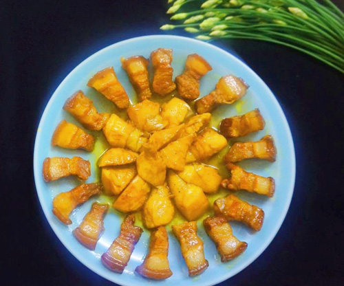 Thịt heo kho măng chua đậm đà đưa cơm - Ảnh 3