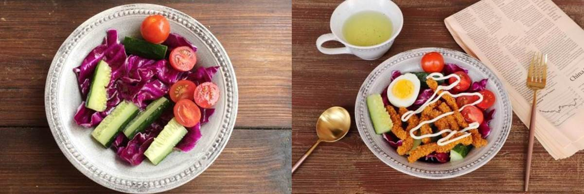 Bữa trưa ngon miệng với món salad bò chiên giòn - Ảnh 2
