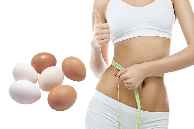 Trứng gà giúp giảm cân hiệu quả và nhanh chóng nhất