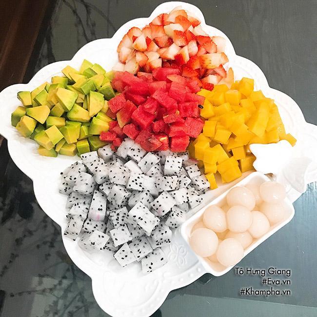 Chè hoa quả trân châu giòn ngon, tươi mát cho ngày nắng đầu mùa - Ảnh 1