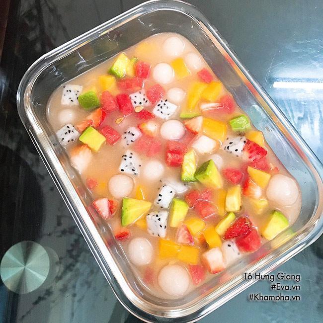 Chè hoa quả trân châu giòn ngon, tươi mát cho ngày nắng đầu mùa - Ảnh 3