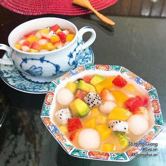 Chè hoa quả trân châu giòn ngon, tươi mát cho ngày nắng đầu mùa - Ảnh 4