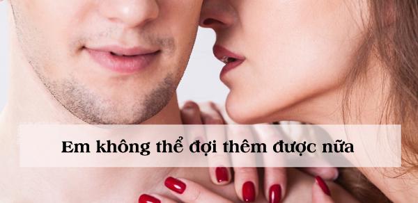 Những câu nói kích thích 'ham muốn' của chàng khi làm 'chuyện ấy' - Ảnh 4