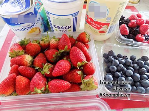 Kem trái cây mát lạnh ngày hè - Ảnh 1