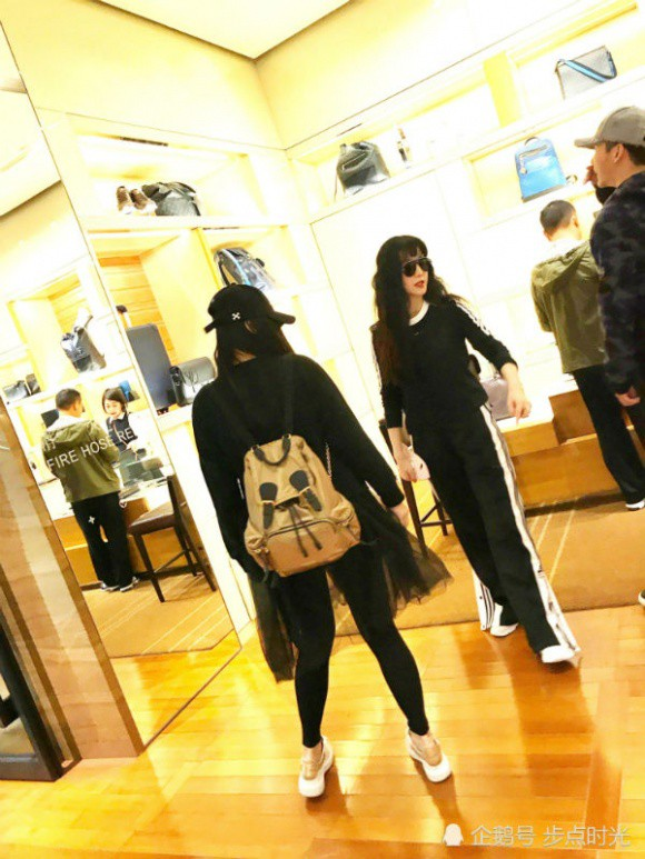 Giữa tin đồn hoãn cưới, Phạm Băng Băng - Lý Thần hạnh phúc bên nhau cùng đi mua sắm - Ảnh 4