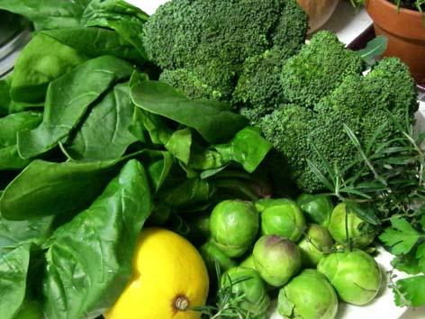 Ăn nhiều rau xanh giúp tăng cường trí nhớ
