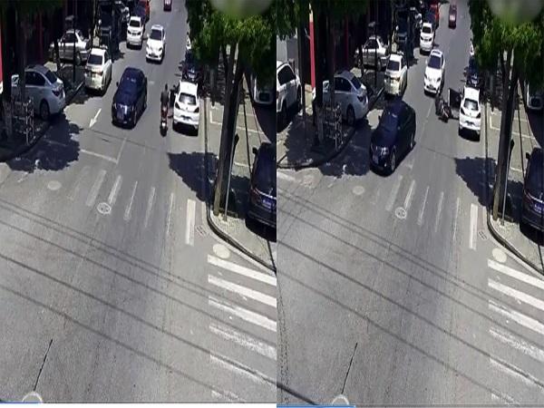 Mở cửa ô tô thiếu quan sát, nữ tài xế gây tai nạn chết người - Ảnh 1