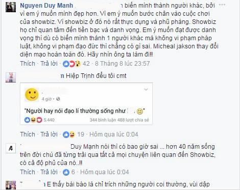 Bức xúc việc MC Phan Anh nói Đức Phúc phẫu thuật thẩm mỹ là 'do giáo dục sai lầm': Duy Mạnh lên tiếng, chửi thói đạo đức giả - Ảnh 4