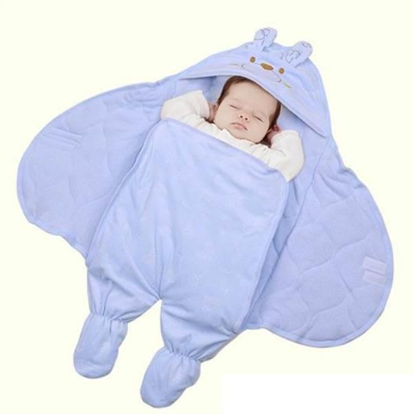 Tối đi ngủ đắp chăn cho con thế này, không bao giờ lo trẻ đạp chăn, cảm lạnh - Ảnh 3