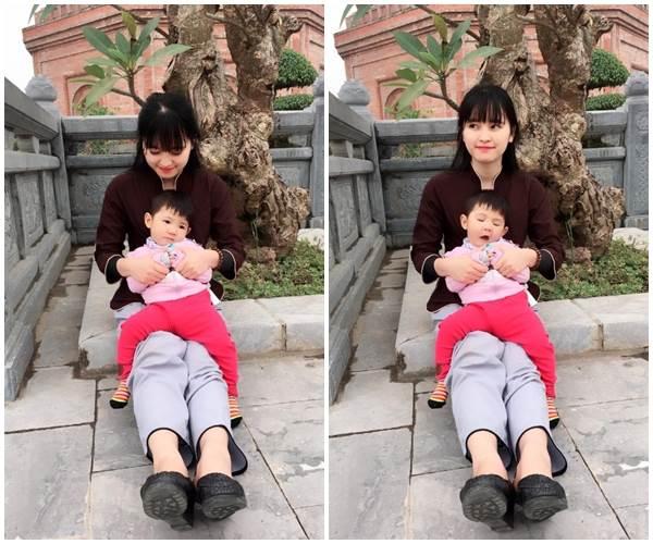 Bé Yến Nhi 14 tháng tuổi nặng 3,5kg: Hình ảnh MỚI NHẤT về cái Tết ấm áp đầu tiên bên mẹ nuôi   - Ảnh 8