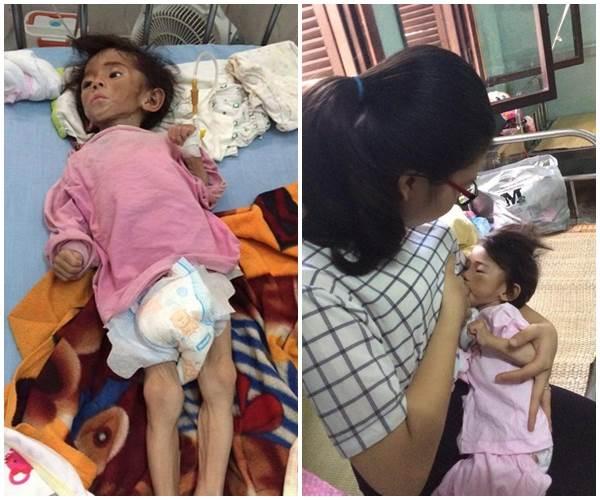 Bé Yến Nhi 14 tháng tuổi nặng 3,5kg: Hình ảnh MỚI NHẤT về cái Tết ấm áp đầu tiên bên mẹ nuôi   - Ảnh 1