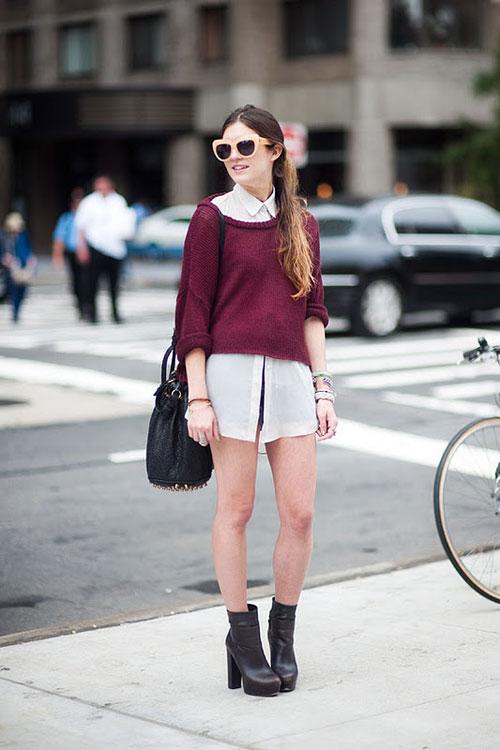 ý Set đồ vừa hợp thời trang giúp bạn gái thật cá tính khi xuống phố vừa ấm áp hoàn hảo
