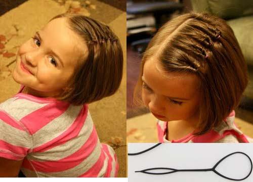 Kiểu tết tóc xoắn