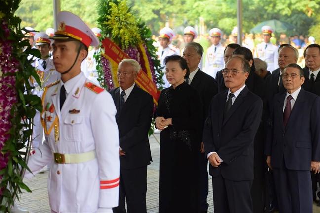 Tang lễ nguyên Tổng bí thư Đỗ Mười tổ chức theo nghi thức Quốc tang - Ảnh 9