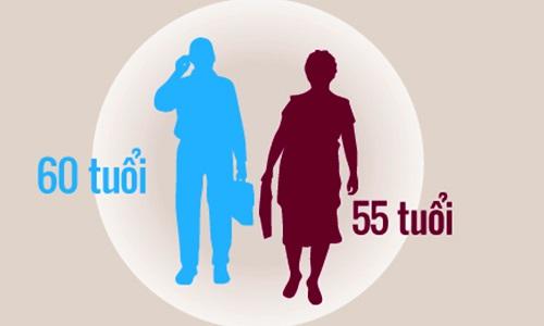 Tuổi nghỉ hưu có thể tăng từ năm 2021 - Ảnh 1