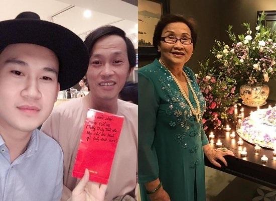 Sinh nhật mẹ của Hoài Linh và Dương Triệu Vũ