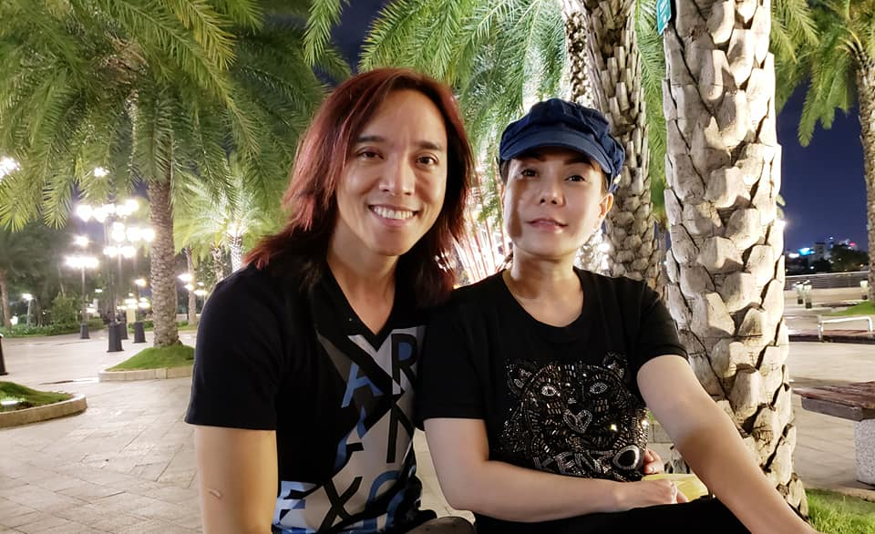 Bức ảnh cuối cùng Việt Hương chụp với người cha vừa mất gây xúc động - Ảnh 3